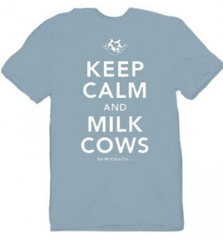 Keep Calm and Milk Cows T-Shirt