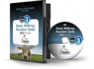 Basic Milking Routine Tasks DVD